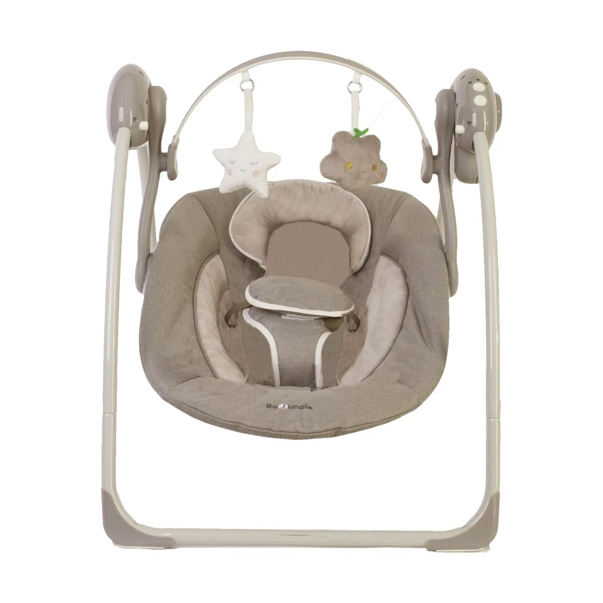 Leagan portabil pentru bebelusi Bo Jungle, Bej