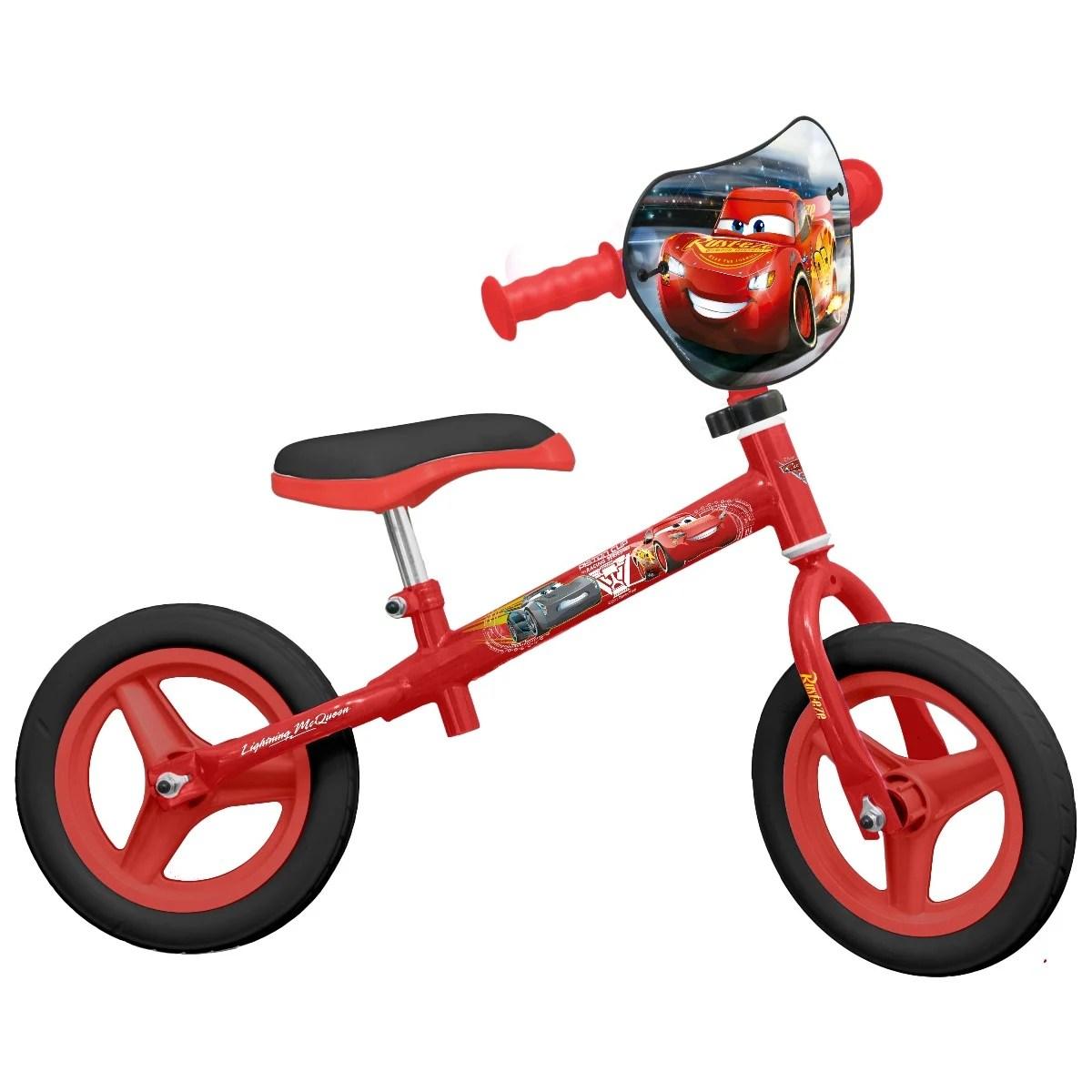 Bicicleta fara pedale Disney Cars 3 – 10 inch