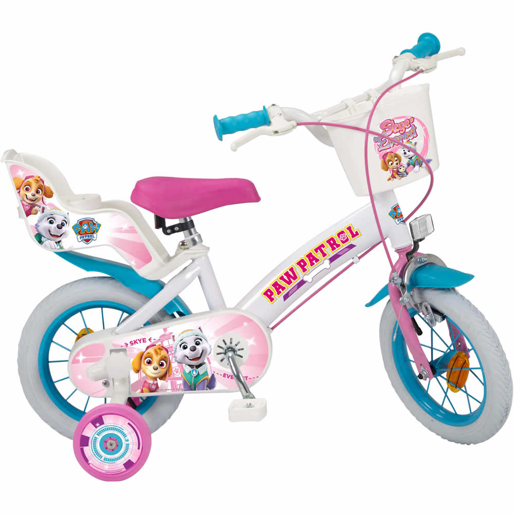Bicicleta copii Paw Patrol Girl, 12 inch