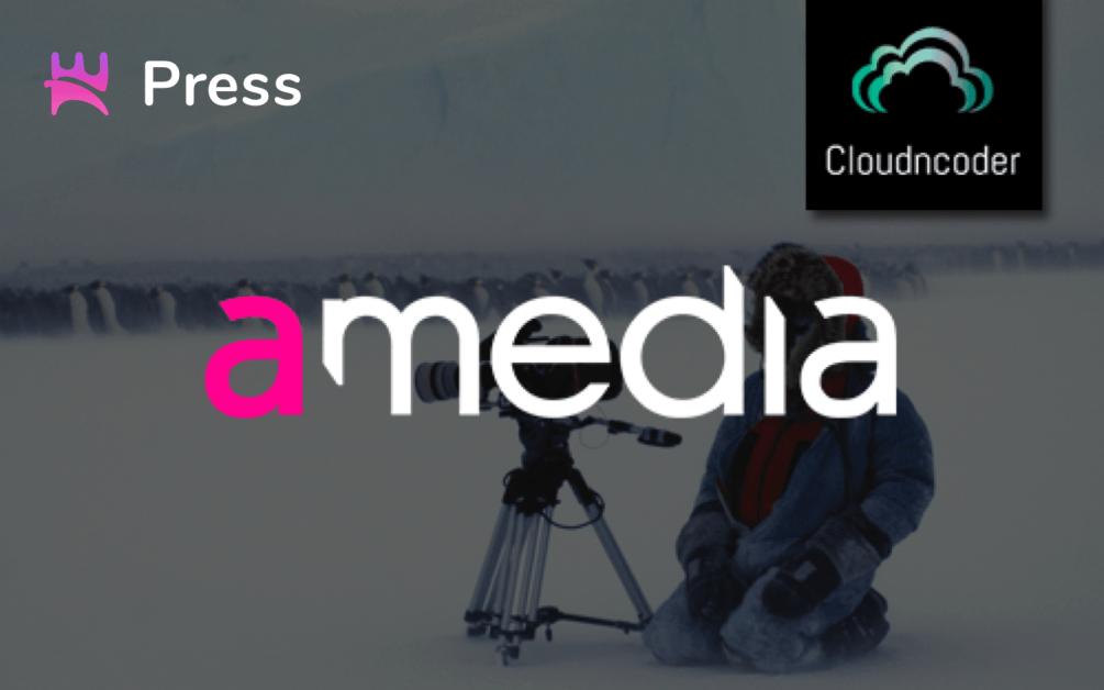 Amedia signs NORIGN MEDIA for Multi-Screen LIVE Transcoding