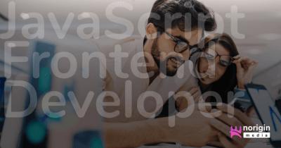 JavaScript Frontend Developer – Consultant