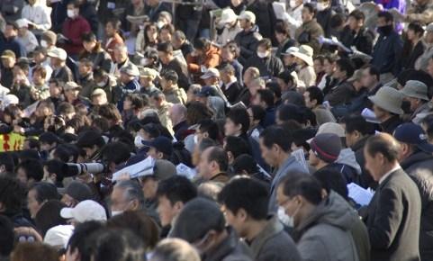 競馬の観客