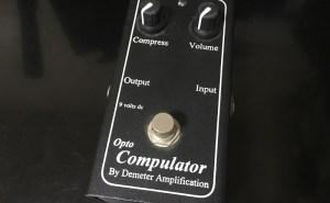 【動画】DEMETER COMP-1 Opto Compulator ディメーター コンプレッサー