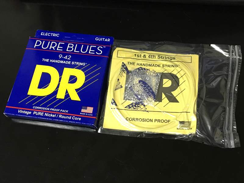 DR Strings PHR-9 09-42 PURE BLUES   850円 RETRO MM12 MM13 950円、Ultex ピック 70円、PHR9 850円、710NM 950円