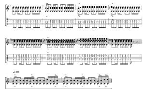 【動画・TAB】Addnote 徐々に音を増やしていく展開が好きです。 ルーパーは使っていません。 #norinori0107