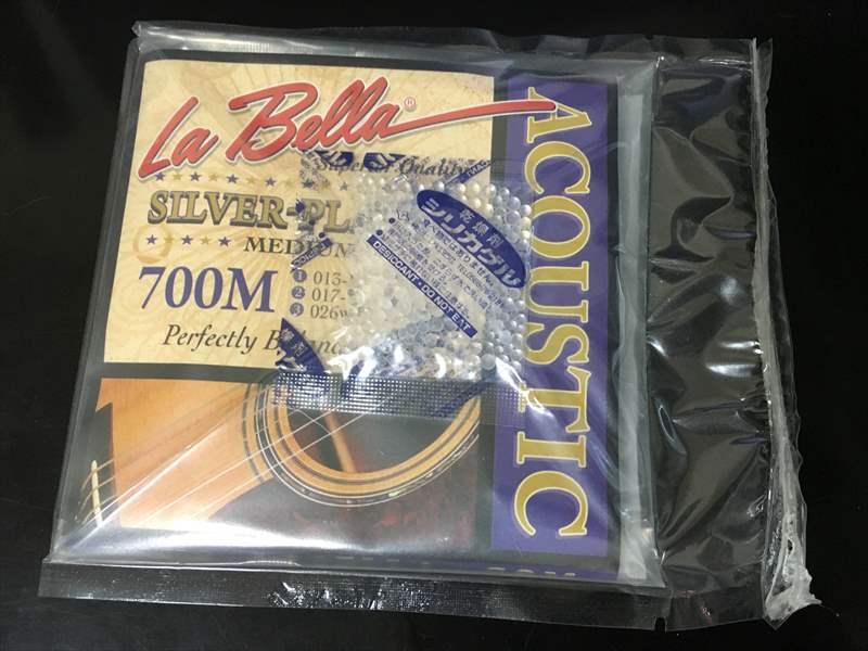 La Bella ラベラ 700M 13-56 Silver Plated Medium アコースティックギター弦 1080円 Saga Golden Gate ピック 250円、Grisman DAWG 250円、Primetone ピック 320円、La Bella ラベラ 700M 1080円、VSA1152 1600円(税込)、200L John Pearse 840円(税込)、DR PM12 12-54 PRE-ALLOY・・・etc