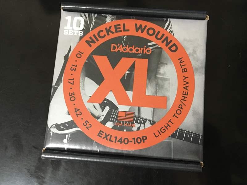 EXL140 530円(税込) D'Addario ダダリオ 10-52 XL Nickel Wound Extra Heavy
