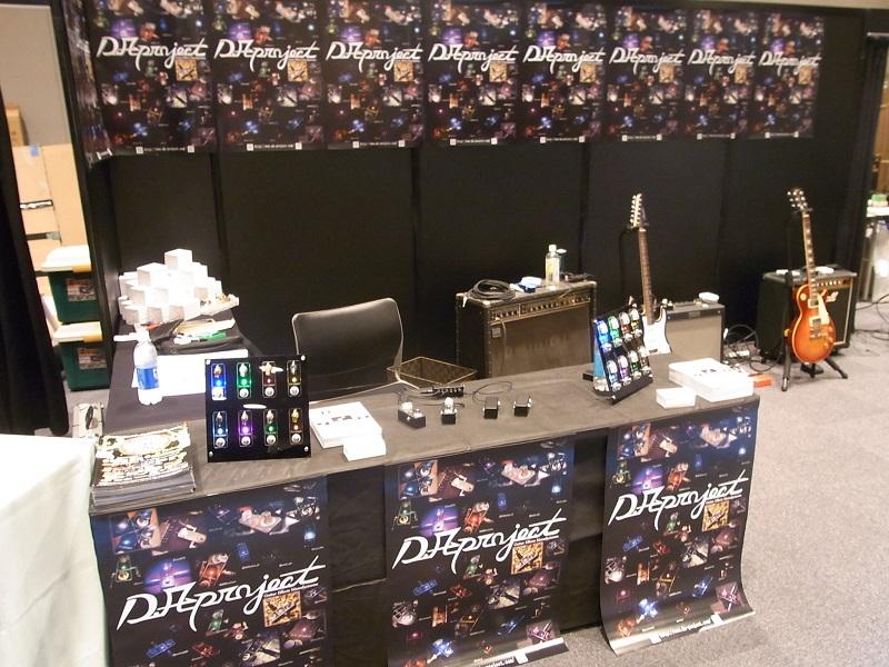 東京ギターショー(TGS)にD.A-Project出展