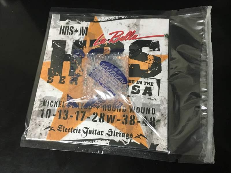 La Bella ラベラ HRS-M 750円(税込) 10-48 Medium エレキギター弦 Wyres M140 800円、DAVA ピック 120円、MLピック 50円、Tortex 70円、ラベラ HRS 750円、EJ11 640円、RADIUS マンドリン PU