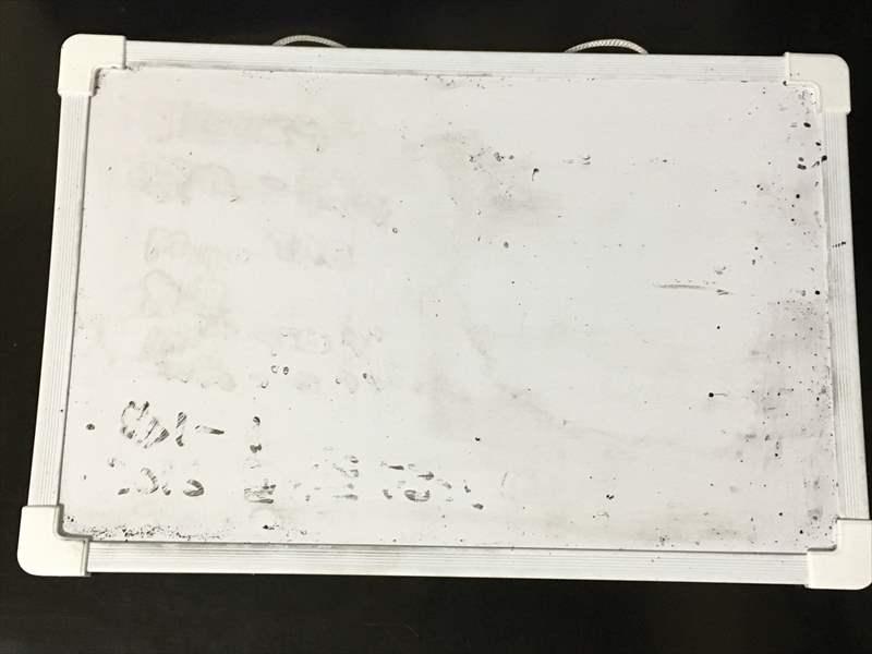 キャンドゥのホワイトボード の汚れ ホワイトボードの汚れを「〇〇で」キレイに落とす簡単な方法!!消えない汚れも一瞬で消せます! #掃除