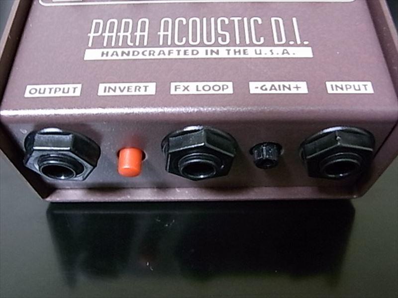 L.R.BAGGS Para Acoustic D.I. FX LOOP UGREENのケーブルの感想!安くて高品質でコスパ良し!Y字ステレオケーブルがお気に入り!