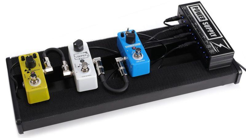 Donner Guitar パワーサプライ 小さくて安いパワーサプライ特集! エフェクターボードに邪魔にならないコンパクトなオススメ電源!【ギター・ベース】