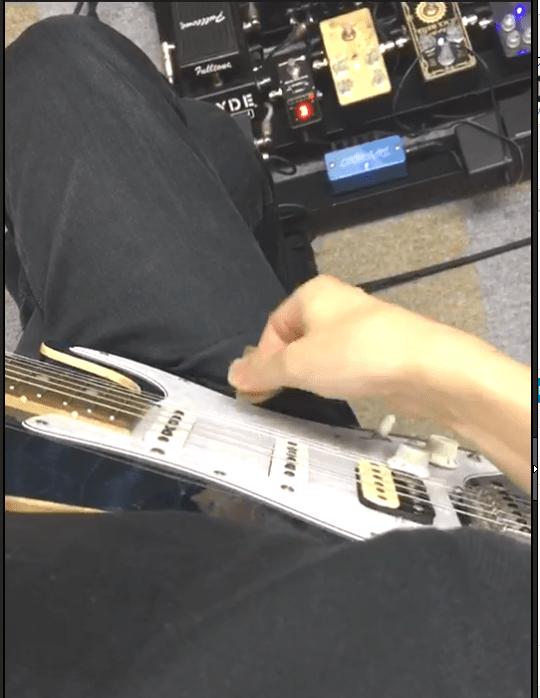 キレのあるピッキングのための右手の使い方 ギター講師として富山に呼んで頂きました。