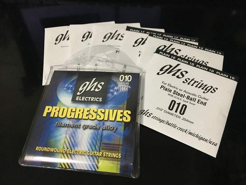 GHS PRL Progressives プログレッシブ 10-46 【弦を錆びさせない方法】 GHS PRL 760円 Progressives プログレッシブ 10-46 エレキギター弦
