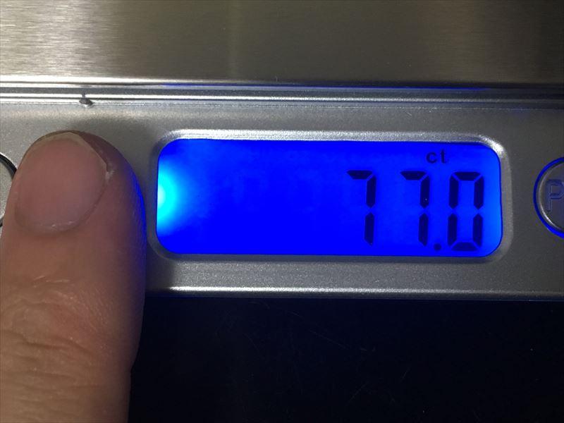 ct(カラット)をデジタルスケールで量る 【徹底解説】デジタルスケール 電子はかりが超便利! 0.1g~3000gまで測れる小さくて軽い一台は持っておきたい計り!キッチンスケールにも使えます。
