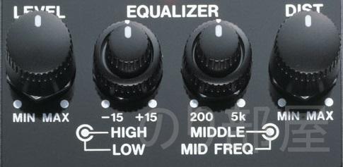 JB-2 はMT2と同じ2軸ポッドでそれぞれ操作可能 【オススメ】BOSS JB-2 Angry Driverの便利な使い方!持っておいて損はしない歪みエフェクター!!
