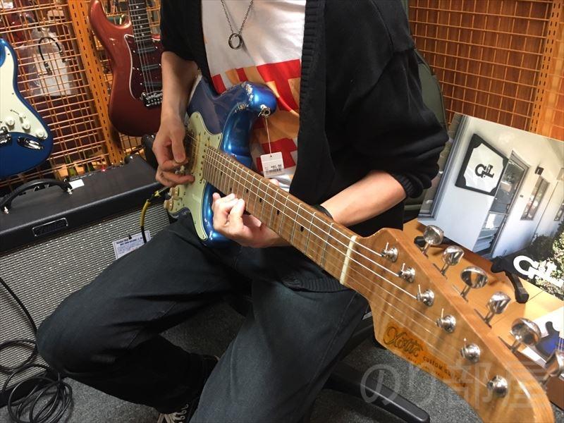 Xotic XSC-2 Allen Hinds仕様 のギターが超良かった!バランスの取れた守備範囲の広いギター。 【15分100円】楽器の試奏料を徴収する楽器店が登場!? 試奏代を取るお店は良い悪い?