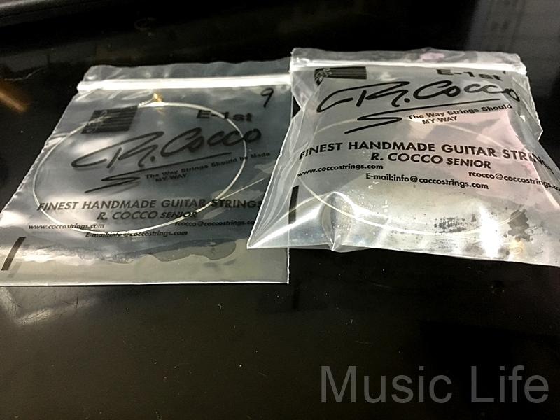 R Cocco弦 真空パック 袋のなかに空気を入れたのを使用します 【錆びさせない方法】R.cocco RC11A、12A,13A 980円(税込)真空パックで錆び・劣化対策!#アコギ #ギター