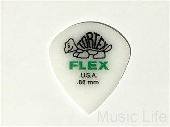 FLEX JAZZ Ⅲ 0.88mm ピック 68円(税込) Tortex JAZZ3 458 JIM Dunlop ギター ジャズ ピック