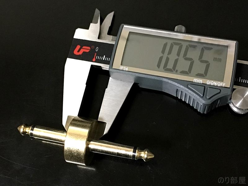EBS PL-20 インターコネクション プラグの厚さ 【パッチケーブル】薄くて軽くて安い「EBS フラットパッチケーブル」がエフェクターボード作りにオススメ!G&H、ノイトリックのプラグと大きさ比較!