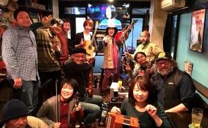 """京都 四条烏丸 Irish PUB """"field(フィールド)""""での演奏! 【トゥクトゥクスキップ】関西東海ツアー2018でした! 最高に楽しいライブでした^^"""