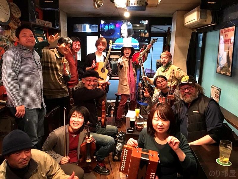"""京都 四条烏丸 Irish PUB """"field(フィールド)""""での演奏! 【トゥクトゥクスキップ】関西東海ツアー2018でした! 最高に楽しいライブでした^^ 【22~24日】明日からトゥクトゥクスキップ 関西東海ツアー2019 始まります!! 【名古屋・京都・静岡】"""