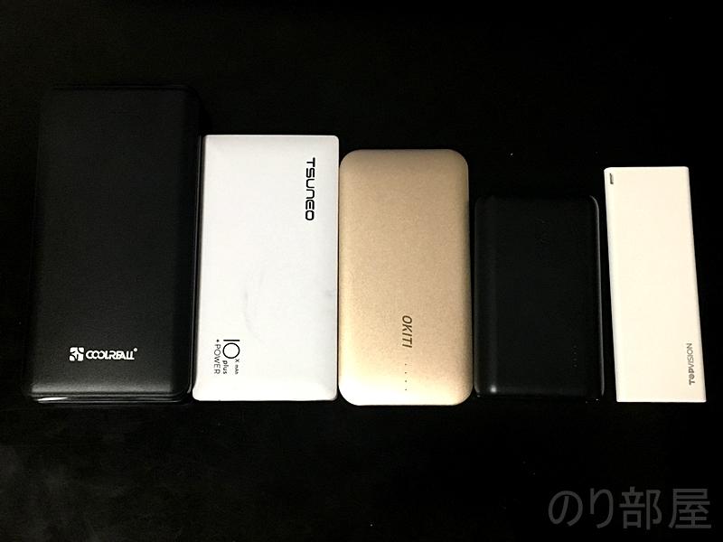 Anker、Coolreal、OKITI、TSUNEOのモバイルバッテリーとの比較 TOPVISION モバイルバッテリー 超薄型の開封 【徹底解説】TOPVISION モバイルバッテリー 3600mAh が普段使い・持ち運びで最強にオススメ!薄くて(7mm)と軽い(60g)!!【iPhoneで充電実測】