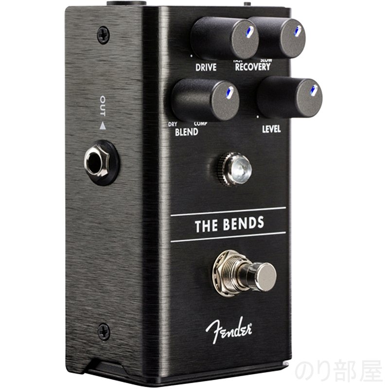 THE BENDS COMPRESSOR 【Fenderエフェクター一覧・動画あり】音も良くてどの場面でも使いやすいペダル!