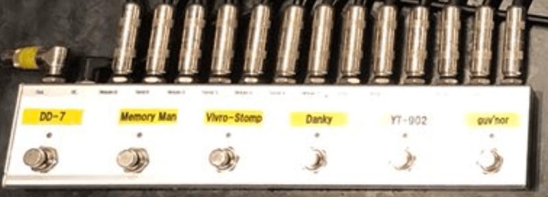 BamBasic Effectribe オーダーメイドスイッチャー 【最新】ギタリスト田中義人さんのエフェクターボードを解析!ギターを支える機材の数々!