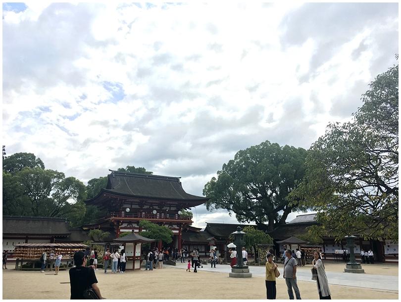境内もかなり広い。 【福岡観光】初めて行く人にオススメの行って欲しいコース。見ておくべき場所と美味しい食べ物!