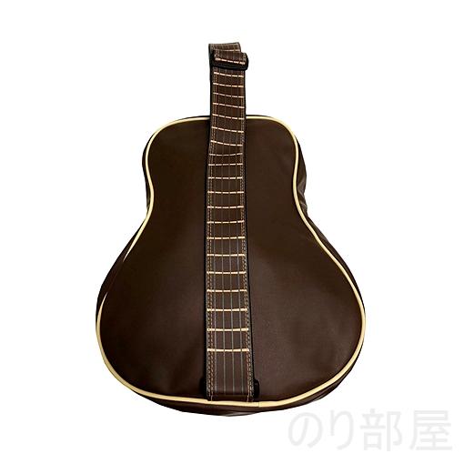 fieldlabo おもしろ アコースティックギター型 ショルダーバッグ  【ダサかわいい!】ギター型 ショルダーバッグが良過ぎてヤバイ!ギター好きにオススメのギターバッグです!