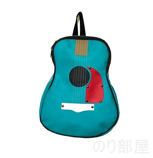 fieldlabo アコースティックギター型 バックパック 【ダサかわいい!】ギター型 ショルダーバッグが良過ぎてヤバイ!ギター好きにオススメのギターバッグです!