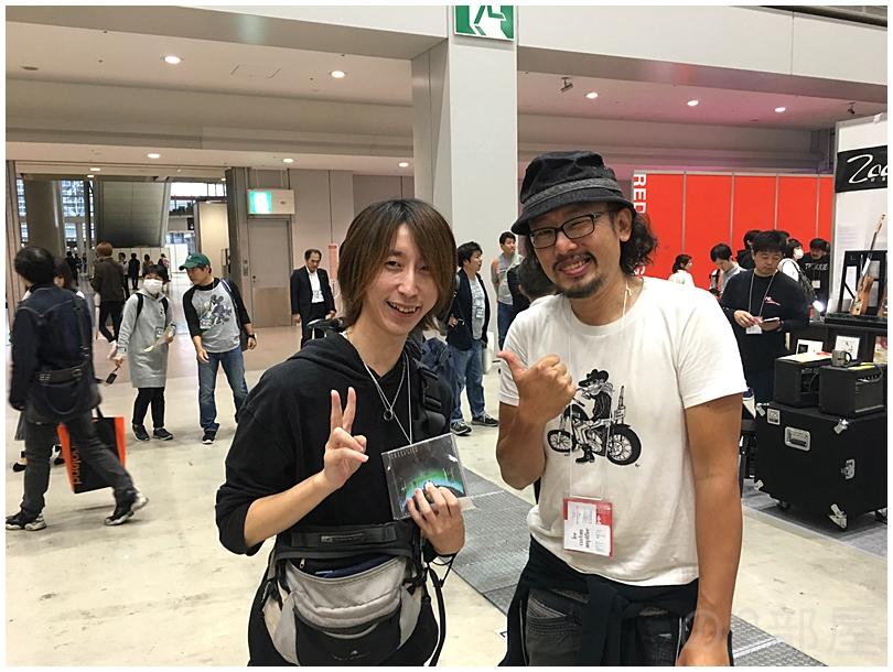 Lee custom amplifier 李 剛浩さん(アンプビルダー) 2018年楽器フェアでお会いした方々&声をかけて下さった方々。