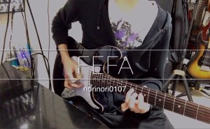 【TAB】スウィープ+タッピング練習 ギターのコードトーンを使ったスウィープフレーズとピッキング練習にオススメ Sweep training #norinori0107
