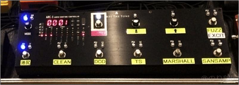 FREE THE TONE ARC-3 スイッチャー 本人使用エフェクターのツマミ・ノブの位置 【徹底紹介】野田洋次郎(RADWIMPS)のエフェクターボード・機材を解析!ツマミ・ノブの位置も分かる!ギターを支える足元の機材の数々を紹介! #野田洋次郎 #RADWIMPS #ギター #エフェクター【金額一覧】