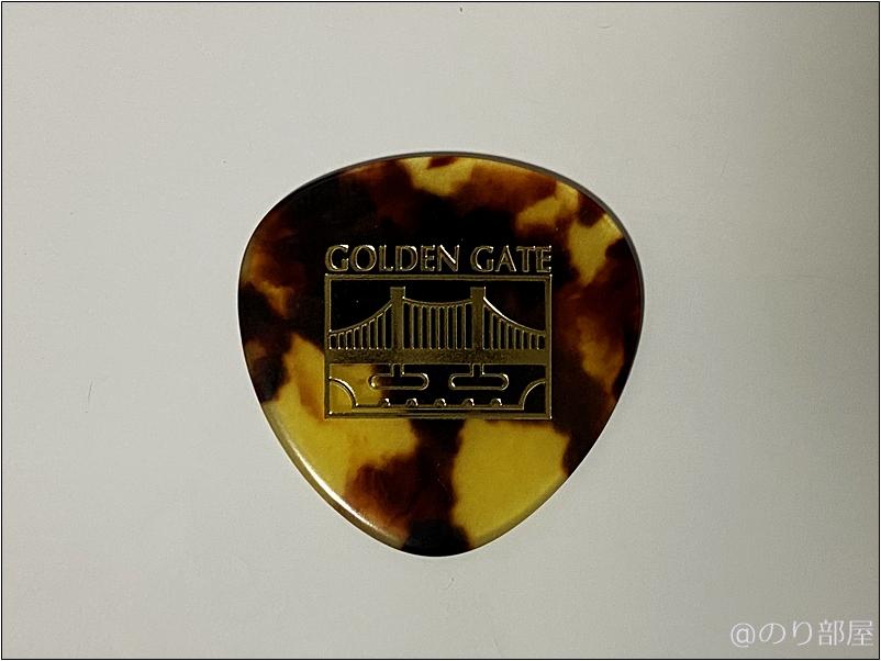 Saga Golden Gate ピック Flatpick rounded triangle 【丸形・丸い】【徹底紹介】丸いピック・丸形・セミラウンドピック特集!弾きやすくて安くてオススメ!【価格・口コミ・評価・レビュー】