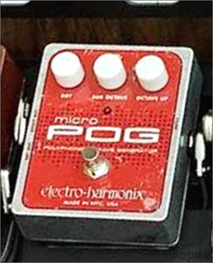 electro-harmonix Micro POG【Andy Timmonsの使用機材・エフェクター】【徹底解説】Andy Timmons(アンディ・ティモンズ)のエフェクターボード・機材を解析!ツマミ・ノブの位置も分かる!ギターを支える機材の数々を紹介!【ペダル・アンプ金額一覧】