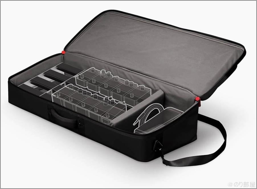 ダダリオ XPND エフェクターボードはボードが伸縮自在で長さを調整できるのが特徴! 【D'Addario XPND Pedalboard】