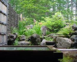 旅館みたけ荘の露天風呂
