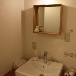 ゲストハウス雷鳥の共用洗面