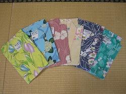 温泉宿福寿荘の選べる浴衣