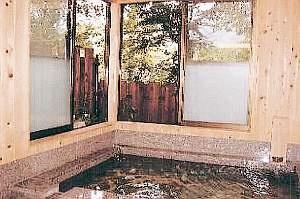 高原の宿ラプランドの浴室