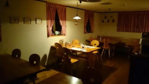 ホテルガルニ・ローリーホフの食堂