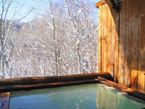 ピーポロ乗鞍 冬の露天風呂