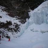 リトルピークス 氷瀑ツアー