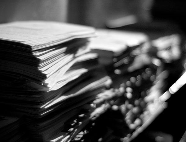 のり面工 書類整理