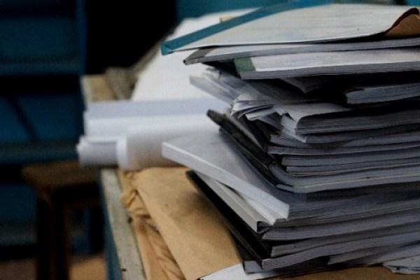 書類が多い