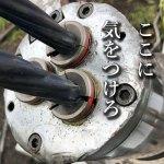 油圧ジャッキのここに注意