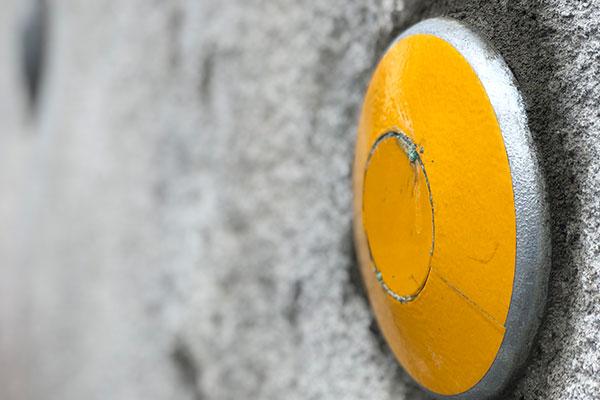フラットプレートキャップ 反射板付