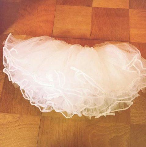 ハロウィン 子供 仮装 簡単 安い 100均 水切りネット チュチュ